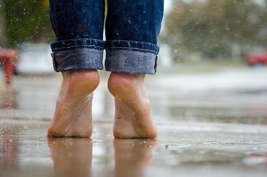 Pointe des pieds